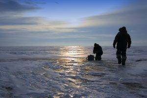 Hobby of many people - it is fishing in the winter